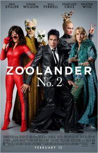 Zoolander 2 - poster nacional