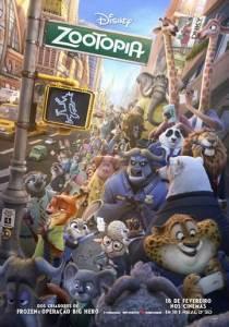 Zootopia: Essa Cidade é o Bicho - poster nacional