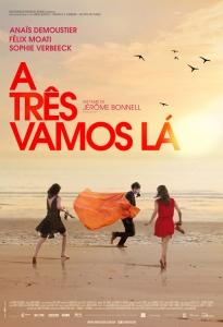 A Três Vamos Lá - poster nacional
