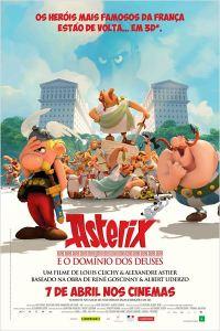 Asterix e o Domínio dos Deuses - poster nacional