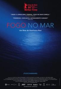 Fogo no Mar - poster nacional