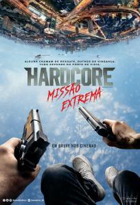 Hardcore: Missão Extrema - poster nacional