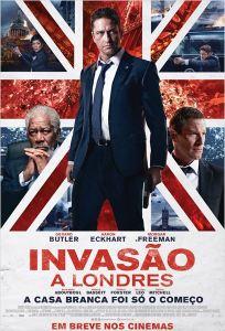 Invasão a Londres - poster nacional