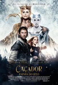O Caçador e a Rainha do Gelo - poster nacional