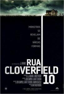 Rua Cloverfield, 10 - poster nacional