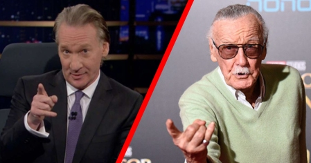 Bill Maher vs Stan Lee